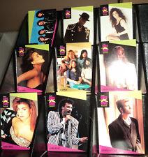 1991 PRO SET SUPER STARS MUSIC CARDS -- COMPLETE 260 CARD SET