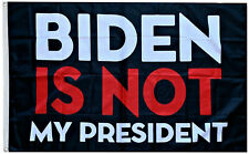 Biden is Not My President flag 2024 Don Jr Ivanka 3x5ft banner
