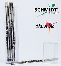 Schmidt Mine 635 M Refill 5 Pack (Multi) D1 (2 Black 1 Blue 1 Red 1 Green)