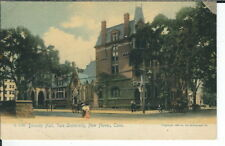 CC-306 CT, New Haven, Divinity Hall, Yale University Undivided Back Postcard