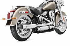 Screamin Eagle Milwakee 8 Muffler Kit Short HDI Chrome Street Cannon 64900636