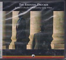 THE ESSENTIAL DRUCKER by PETER F. DRUCKER ~ UNABRIDGED CD AUDIOBOOK