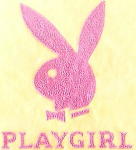 Original Vintage Playgirl Micro Mini Iron On Transfer Pink