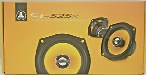 "JL Audio C1-525x 5-1/4"" C1 Series 2-Way Coaxial Car Speakers 50W NEW"