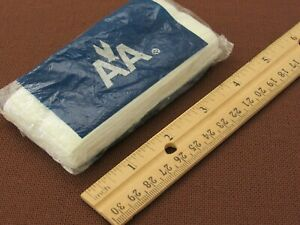 Authentic 1980-90s AMERICAN AIRLINES - Flight Passenger Bag of Paper Tissues