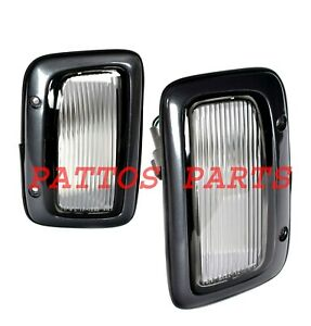 Suit Nissan Patrol GQ s2 Y60 PAIR Guard Repeater Flasher Indicator For 92~97
