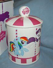 Hasbro My Little Pony Merry Go Round Ceramic Cookie Jar New In Box  Adorable
