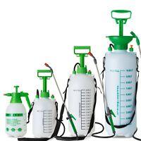 Pressure Sprayer 2 5 8 10 Litre Manual Bottle Knapsack Weed Killer Garden LTR UK