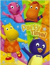 (8) BACKYARDIGANS INVITATIONS ~ Birthday Party Supplies Stationery Nick Jr Cards