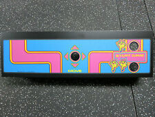 MS PACMAN CPO Screen Printed with New Metal Panel - PERFECT!