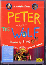 DVD: PROKOFIEV Peter and the Wolf STING BENIGNI ABBADO Classical Symphony Puppet