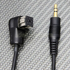 PIONEER HEADUNIT IP BUS CD CHANGER PORT TO 3.5 mm MINI AUX AUDIO CABLE ADAPTER
