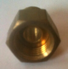 """Brass 3/8"""" Npt Male to 3/8"""" Female Inverted Connector BMFI375375 @ Speed Tech"""