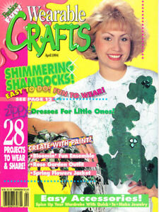 Craft Books: #1396 Wearable Crafts Magazine April 1994