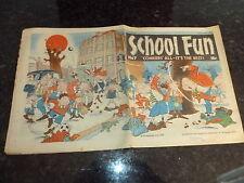SCHOOL FUN Comic - No 7 - Date 26/11/1983 - UK Paper comic