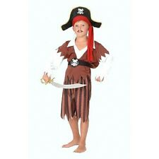 Pirate Boy Costume, Size Small, Fancy Dress Parties, Long John Silver G51190S
