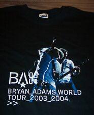 BRYAN ADAMS WORLD TOUR 2003-2004 T-Shirt MEDIUM NEW