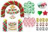 Noël 30.5cm Confettis Ballon Bonne Année Décoration Joyeux Noël Ballons