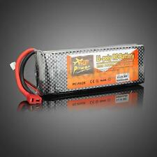 5000mAh 30C Rechargeable Lipo Battery T Plug for RC Helicopter Airplane Car