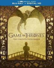 NEW! Game of Thrones: The Complete Fifth Season (Blu-ray Disc, 2016, 4-Disc Set)