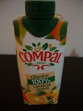 100% ORANGE JUICE from concentrate * Compal* made with 3 oranges juice 330 ml