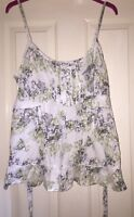 New Look Organic Cotton Top Size 16