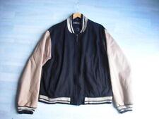 BUSTER Collegejacke Gr. M Baseballjacke Winterjacke Weiß / schwarz Gr. 48/50
