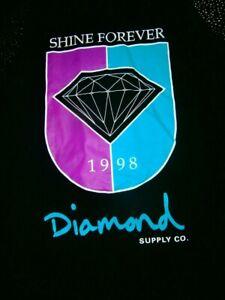 RARE DIAMOND SUPPLY CO SHINE FOREVER 1998 NEON FLURO RETRO MEN L MUSCLE TANK