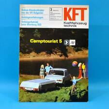 DDR Kft autoveicoli Technology 3/1973 Camp turista Honda Civic Ford Consul SEAT 21