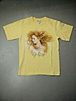 Taylor Swift T-shirt Fearless Tour Double Sided Cities Anvil Size Small