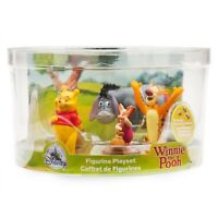 Disney Winnie The Pooh Figurine Figures Figure Set of 5 Toy Playset