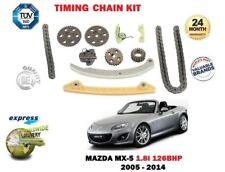 Para Mazda MX5 1.8 NC 126BHP L8 1798cc 16 V 2005-2014 RWD Nuevo Kit de la cadena de distribución