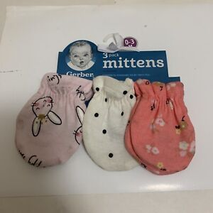 24 PairsWonder Nation Baby boys Mittens NEW Size 0-3 Months Adorable