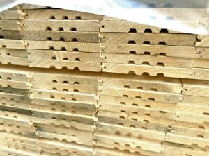 6.5inch (165x20mm) tongue and groove floorboards