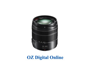 New Panasonic G VARIO 14-140mm F3.5-5.6 MK II (Black) Lens 1 Year Au Warranty