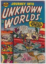 Journey Into Unknown Worlds #6 F+ 6.5 Marvel Atlas Russ Heath Art 1951!-