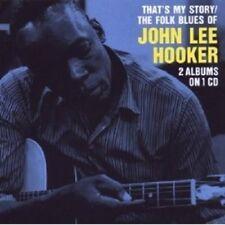 JOHN LEE HOOKER - THAT'S MY STORY/THE FOLK BLUES OF JOHN LEE HOOKER  CD NEU