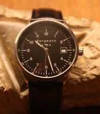 **Bergmann-Armbanduhr 1956**rund**Edelstahl-Gehäuse**3ATM**Neu und ungetragen**
