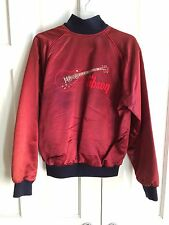 RARE VINTAGE SATIN NYLON GIBSON GUITARS JACKET BY GIRARD MANDEL BEVERLY HILLS CA