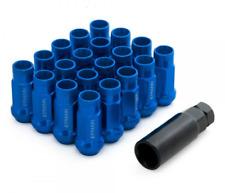 M12x1.25 BLUE STEEL WHEEL LUG NUTS EPMAN FITS NISSAN SKYLINE SUBARU S13 S14