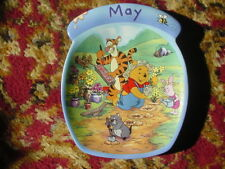 """Winnie the Pooh """" The Whole Year Through """" May Plate"""