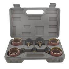 26PC lijadora de tambor husillo giratorio 13,19,25,38,50mm 80 & 120 Grit en cas