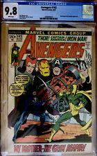 Avengers #102 (Aug 1972, Marvel) CGC 9.8. NEWLY SLABBED