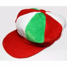 Red, White & Green Baker Boy style hat - Italy