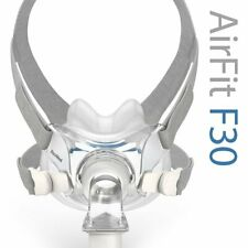 ResMed AirFit™ F30 Full Face CPAP Mask with Headgear (Size S)