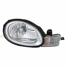 2000 - 2002 DODGE NEON W/CHROME BEZEL HEADLIGHT HEADLAMP PASSENGER SIDE RIGHT