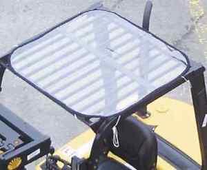 PVC-Dach Wetterschutzhaube Stapler Gabelstapler Universal Regenschutz Cover
