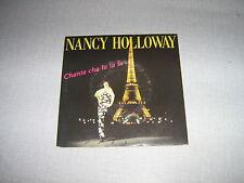 NANCY HOLLOWAY 45 TOURS FRANCE CHANTE CHA LA LA LA