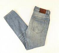 AllSaints BLYTHE TAPER tapered Fit Light wash distressed Jeans W 28 L 30