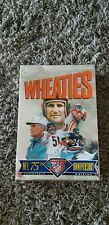 Wheaties NFL 75th Anniversary Full Box KC Chiefs Super Bowl superbowl 1995